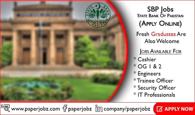 State Bank of Pakistan Jobs