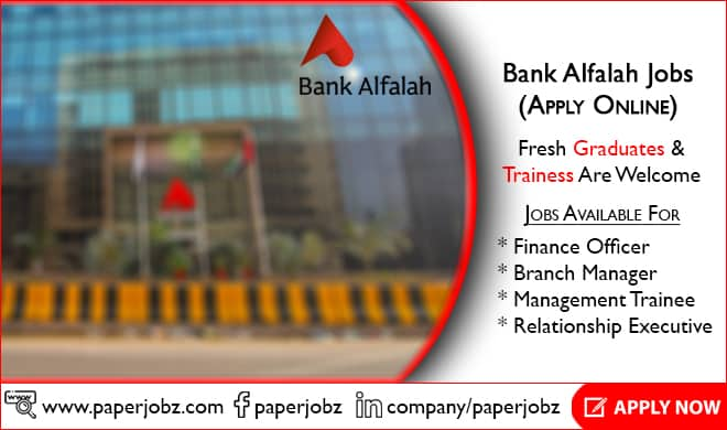 Bank Alfalah Jobs