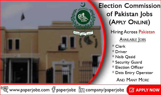 Election Commission of Pakistan Jobs